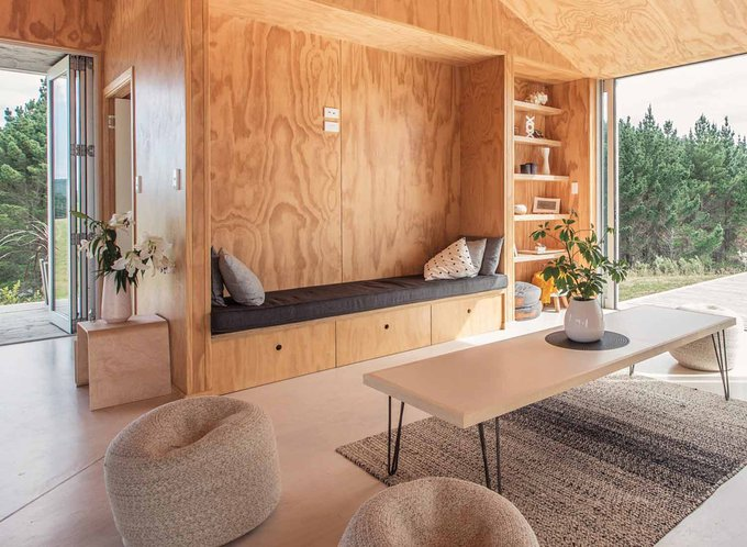 Interior view of Kiwi home designed by Spacecraft Architects Credit Gareth Cooke